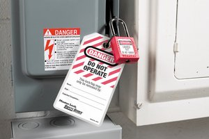 Lockout Tagout Placard