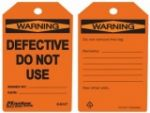 Warning Safety Tags