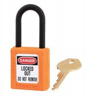 406 Dielectric Xenoy Safety Padlock - Keyed Different