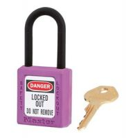 406 Dielectric Xenoy Safety Padlock - Master Keyed