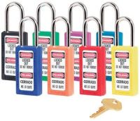 411 Bilingual Xenoy Safety Padlock / Keyed Alike