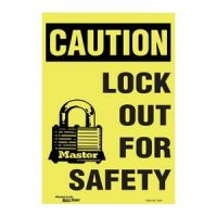 Fiberglass Lockout Sign