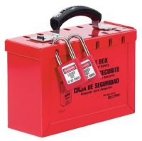 Portable Red Group Lock Box - Latch Tight ™