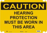 Caution Sign Hearing Protection